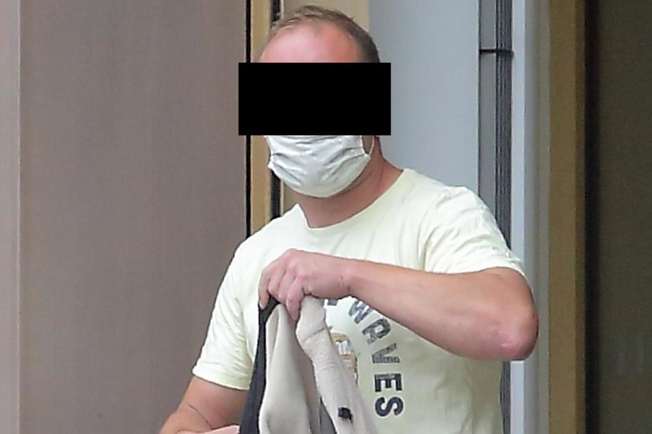 Markus K. (34) wies am Freitag vor Gericht erneut alle Schuld von sich.