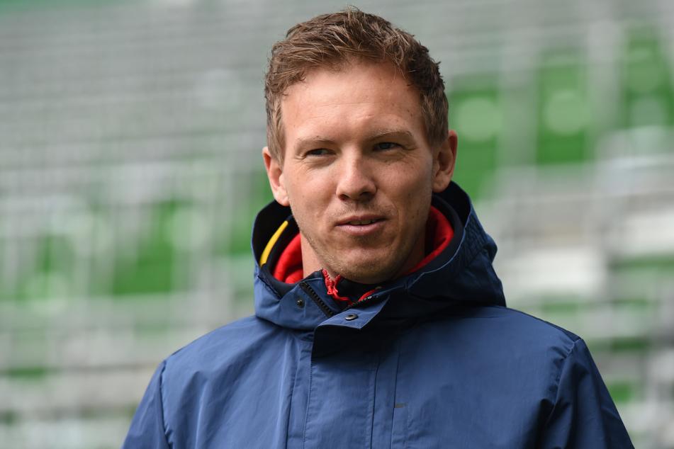 RB Leipzigs Trainer Julian Nagelsmann (33) räumte am Mittwoch mit den Wechselgerüchten um seine Person auf.