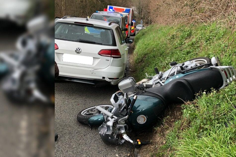 Mann (50) kauft sich neues Motorrad: Seine erste Fahrt endet im Krankenhaus