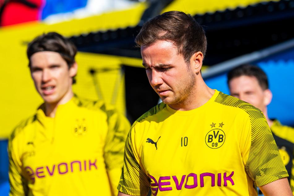 Mario Götze wird Borussia Dortmund im Sommer verlassen.