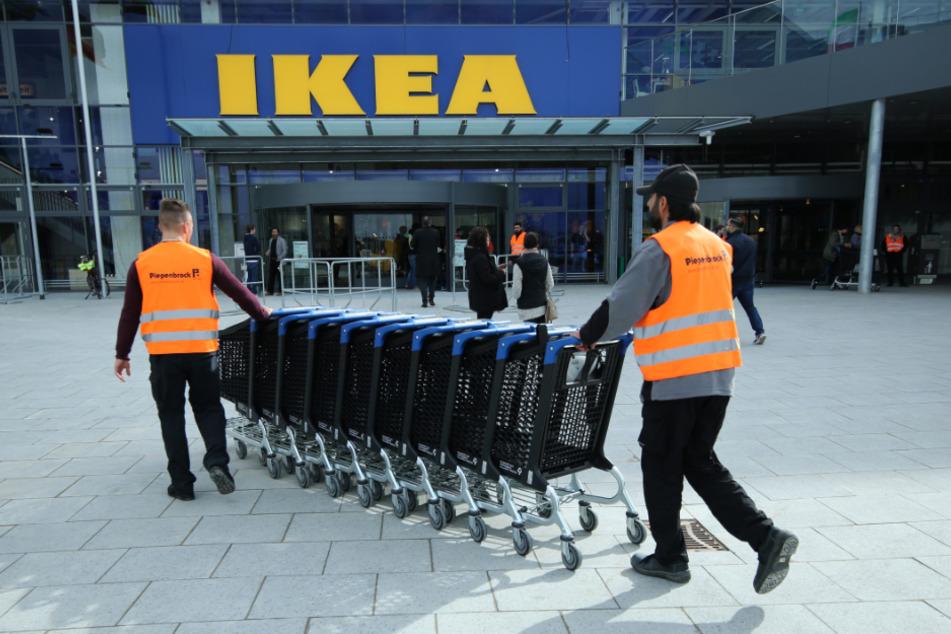 Bei Ikea bleiben die Filialen jetzt erstmal geschlossen.