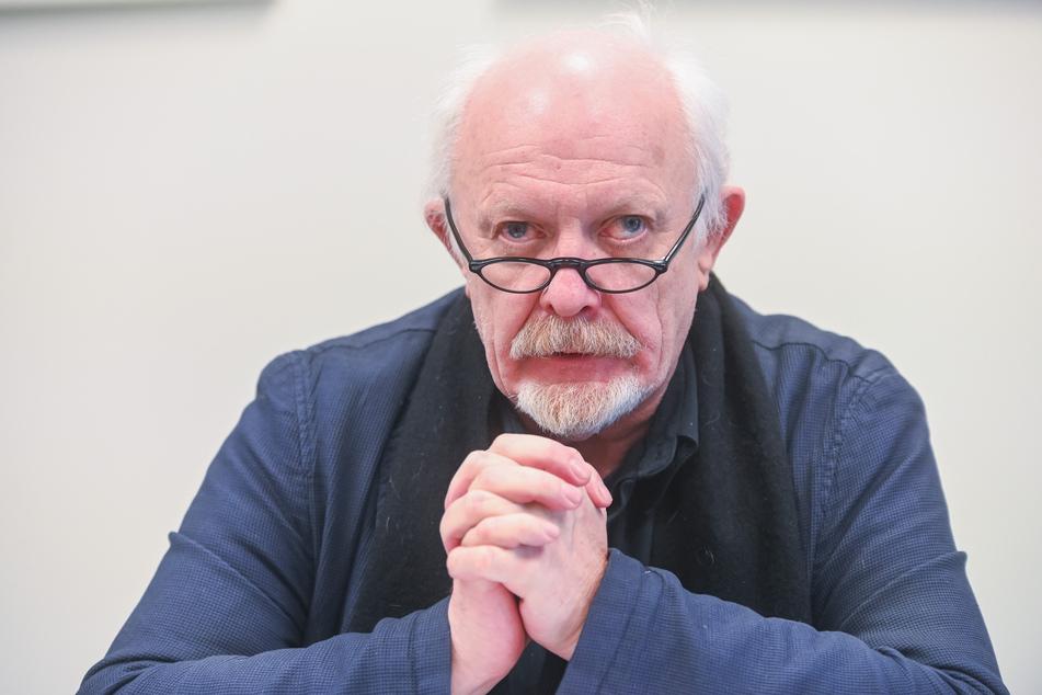 Stadtrat Michael Schmelich (65, Grüne) fordert vom Rathaus die Rettung der Kulturszene.