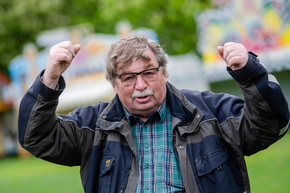 Klaus Illgen, der Vorsitzende des Mittelsächsischen Schaustellerverbandes.