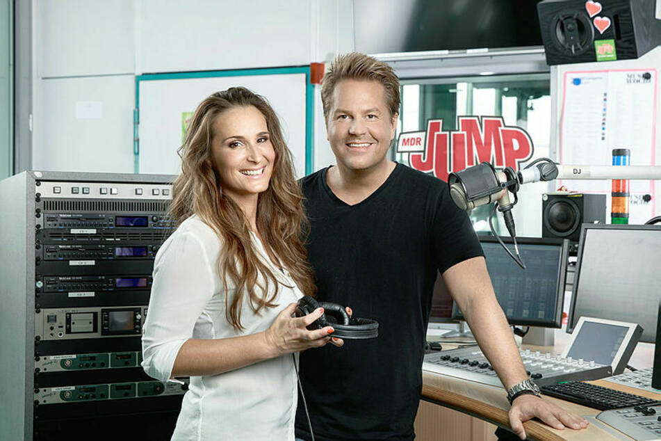 Sonst in der Morningshow, bald wieder zusammen im TV: Sarah von Neuburg (38) und Lars-Christian Karde (46).