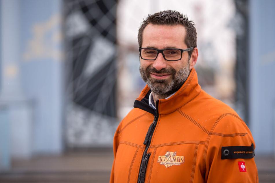 Sein Masterplan wurde von den spanischen Besitzern auf Eis gelegt: Belantis-Chef Bazil El Atassi muss jetzt erst einmal kleinere Brötchen backen.