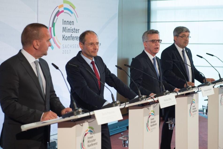 Die Innenminister und -senatoren der Länder tagen am 7. und 8. Dezember in Leipzig. Dagegen formiert sich Protest.