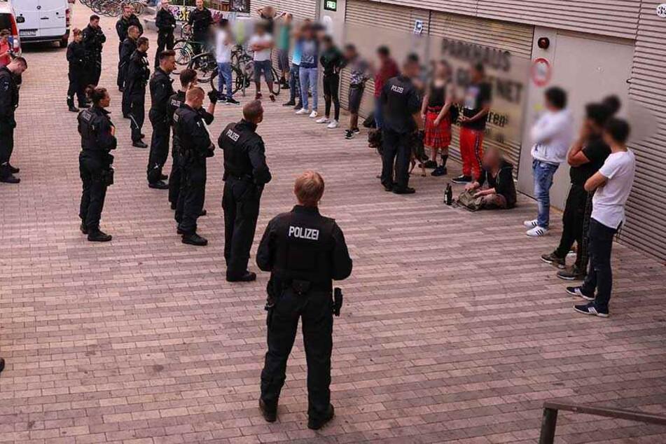 Die Bilanz der Drogenrazzia in der Neustadt