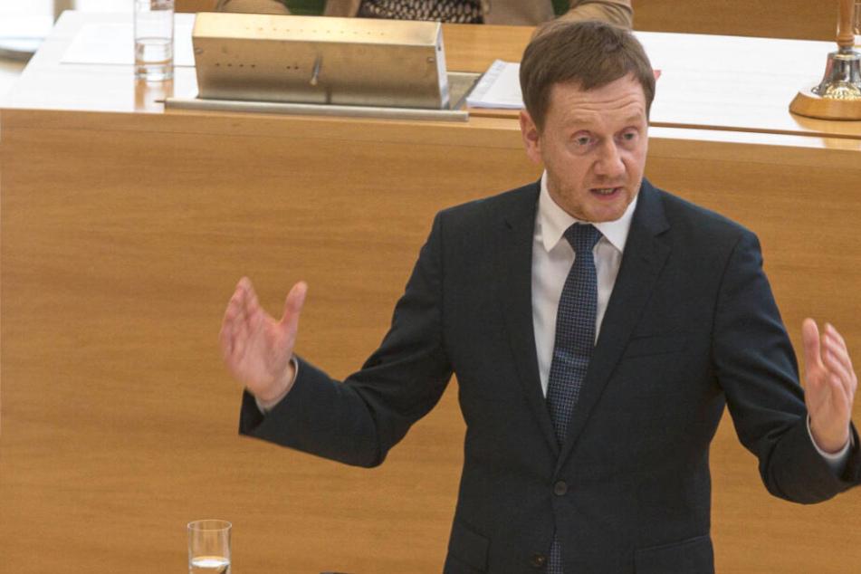 Sachsens Ministerpräsident Kretschmer fordert Neuwahlen in Thüringen!