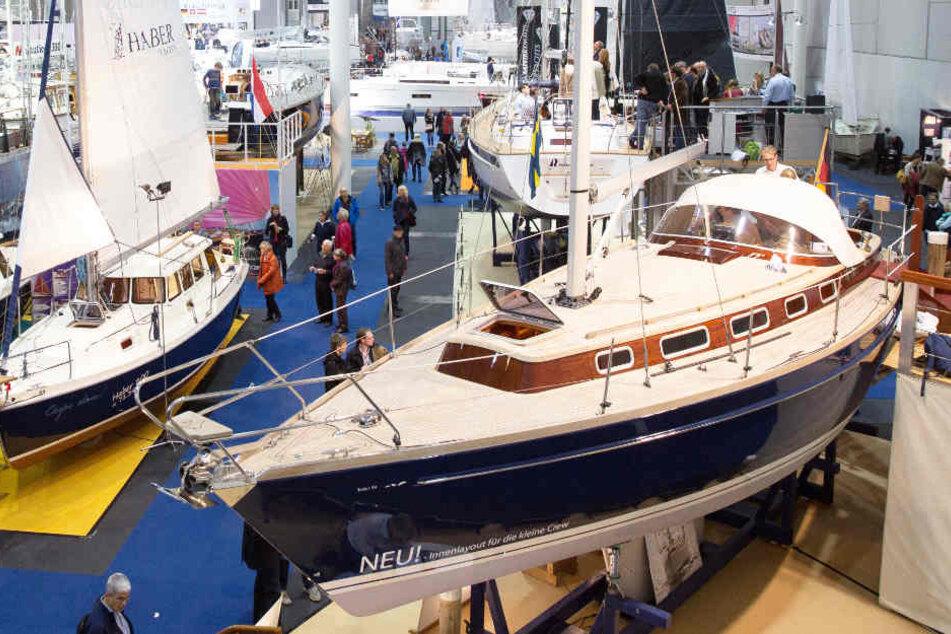 Die neuesten Segeljachten und viel mehr aus dem Wassersportbereich sollen auf der Boat Show ausgestellt werden (Archivbild).
