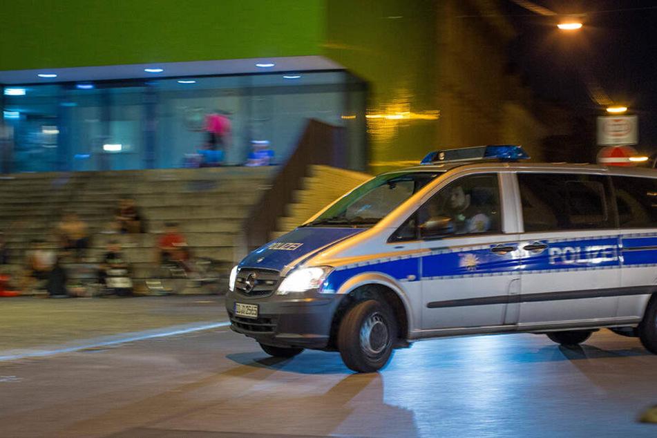 Die Polizei kontrollierte mal wieder in der Neustadt. (Archivbild)