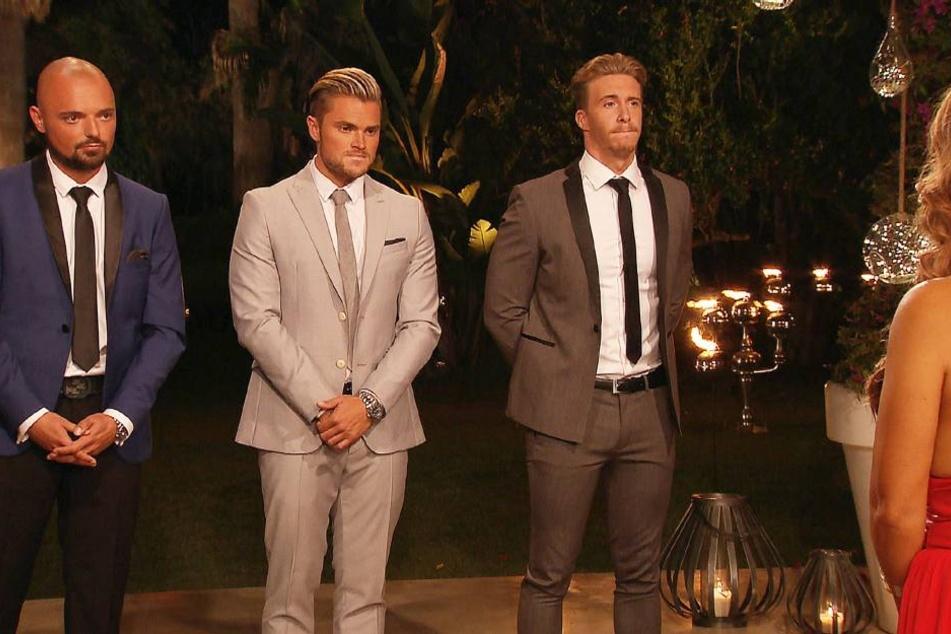 Die erste Entscheidung überstand Johannes noch im cremefarbenen Anzug...