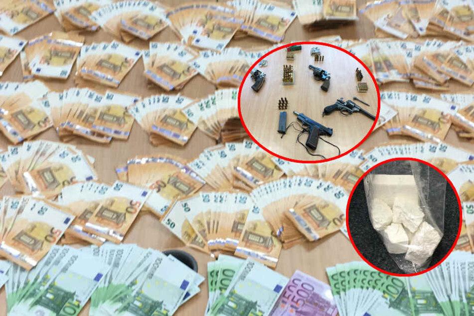 5 Kilo Kokain und Schusswaffen: Spezialeinheiten nehmen Dealer fest