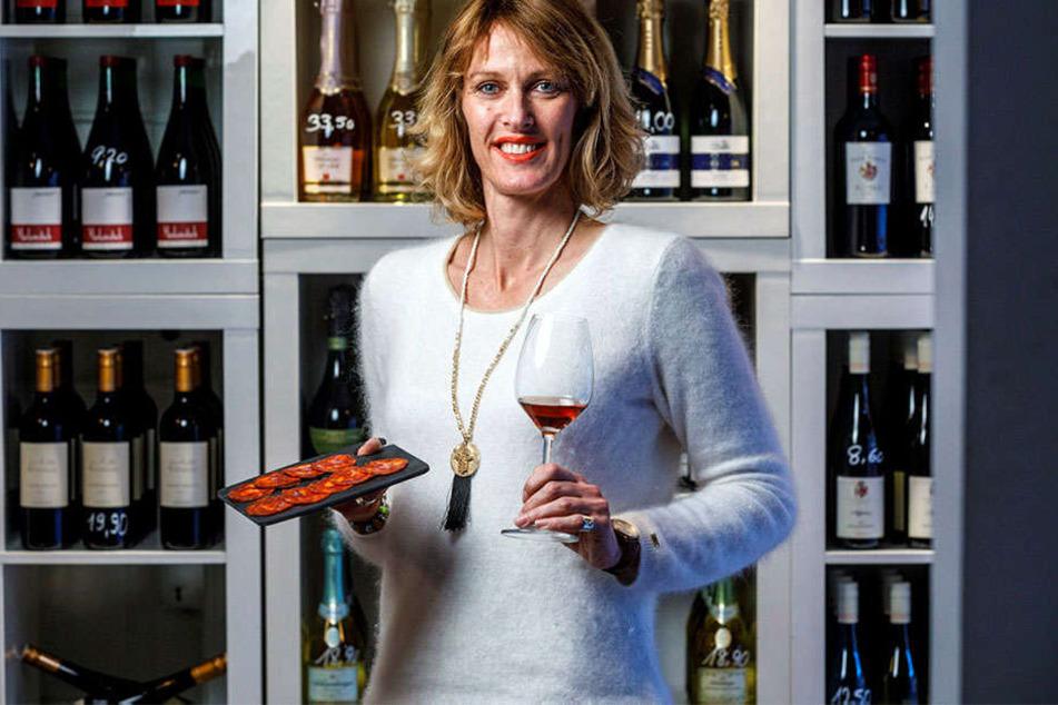 Sommelière Tina Heidelberg (43) offeriert Spezialitäten aus Andalusien in der  WeinPinte.