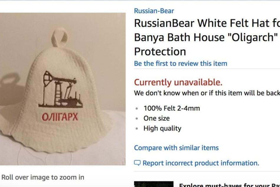 So einen Sauna-Hut wollte Meagan eigentlich haben.