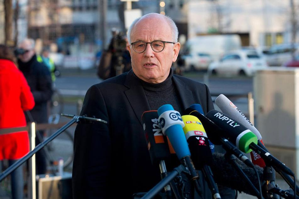 Wies die Kritik von MP Kretschmer zurück: Unions-Fraktions-Chef Volker Kauder (68).