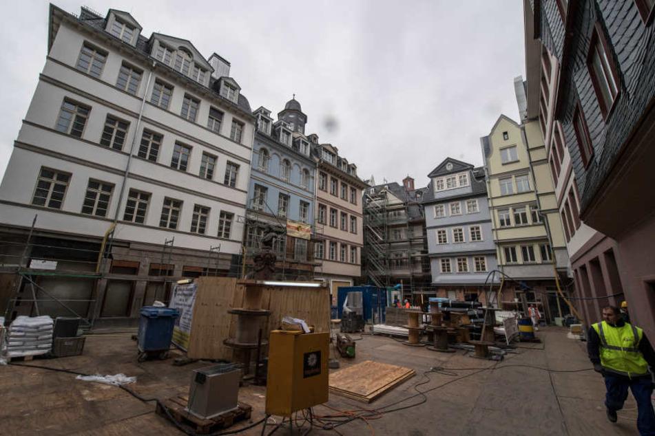 Die neue Altstadt soll im September 2018 feierlich eröffnet werden.