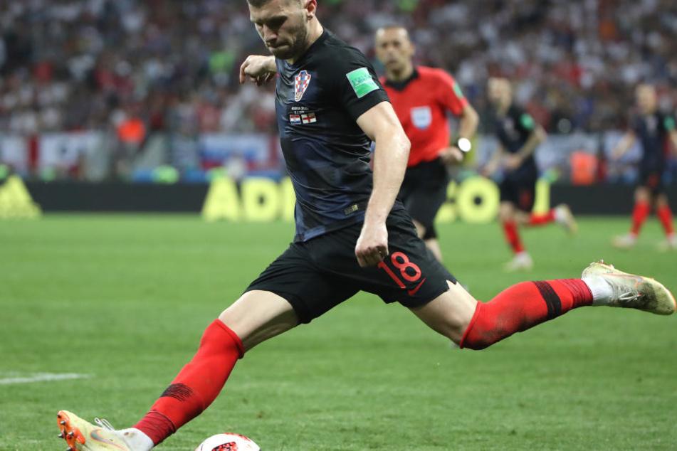 Bei der WM drehte Rebic im Trikot Kroatiens richtig auf.