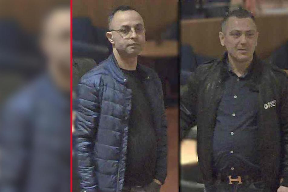 Diese beiden unbekannten Männer sollen regelmäßig Gaststätten in Bad Lippspringe überfallen haben.