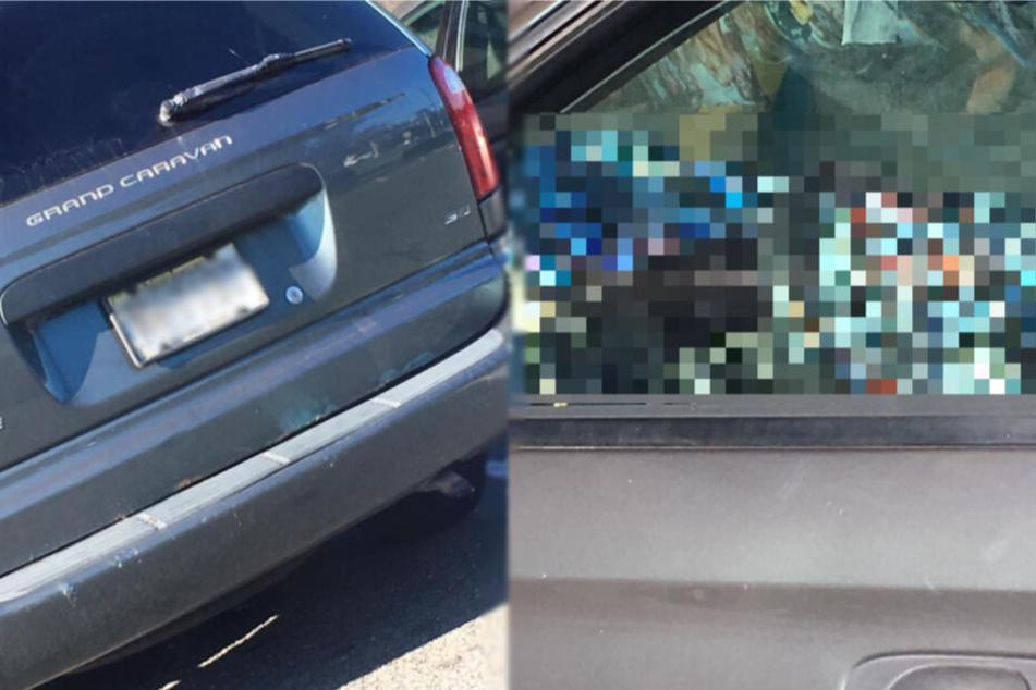 Frau macht sofort Fotos, als sie in dieses Auto sieht, doch die Polizei ist ratlos