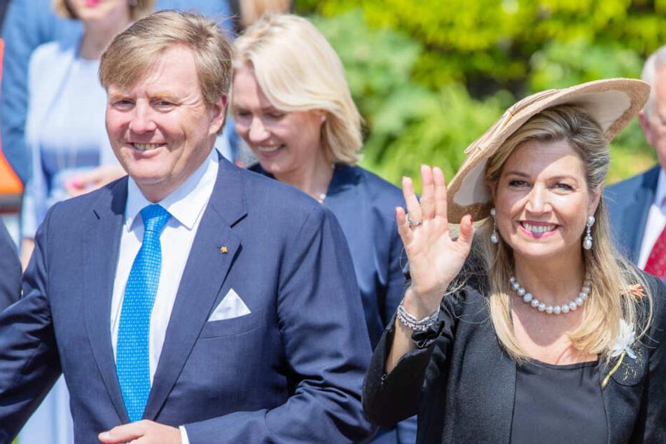 König Willem-Alexander und seine Frau Máxima haben Mecklenburg-Vorpommern besucht.