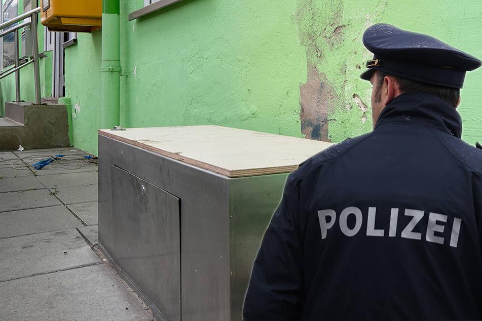 Ticketautomat in Dresden gesprengt: Täter gehen leer aus!