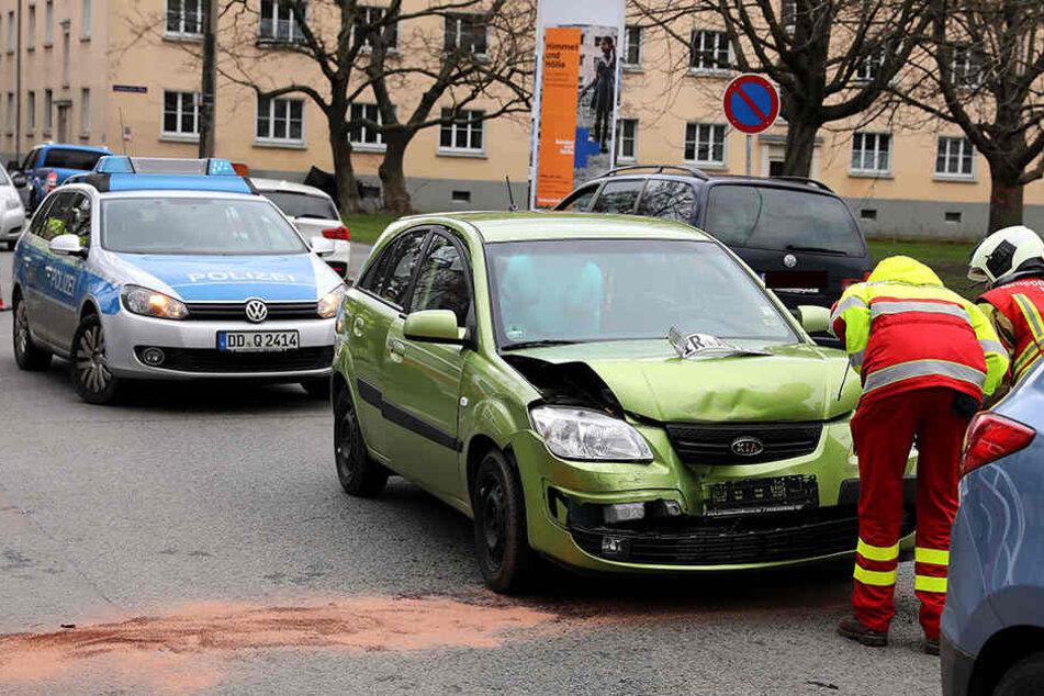 Straße nach Unfall mit Kleinkind gesperrt