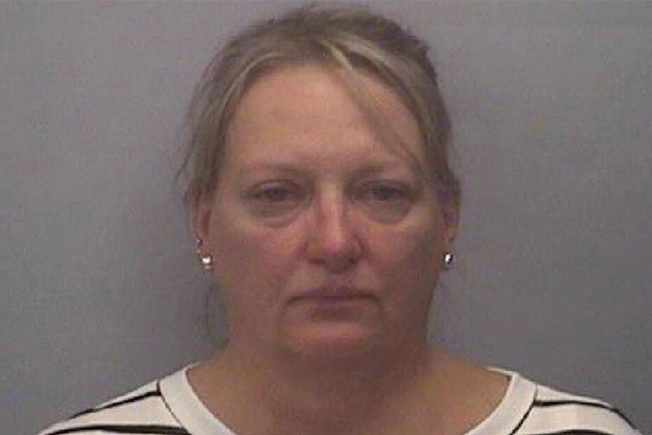Jennifer A. Janus Yeager nach ihrer Festnahme.