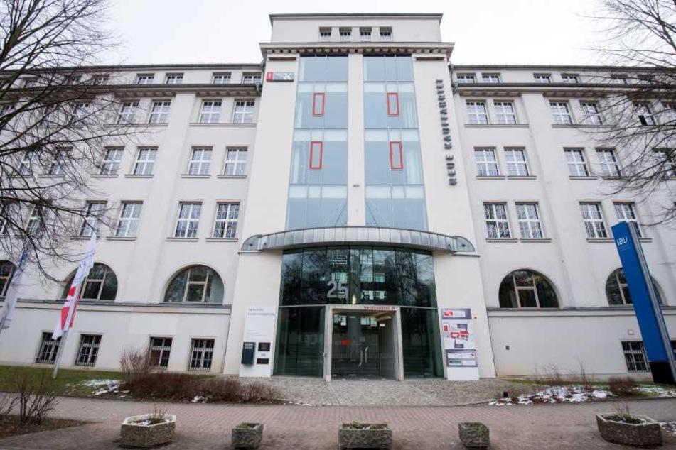 Das Landessozialgericht in Chemnitz.