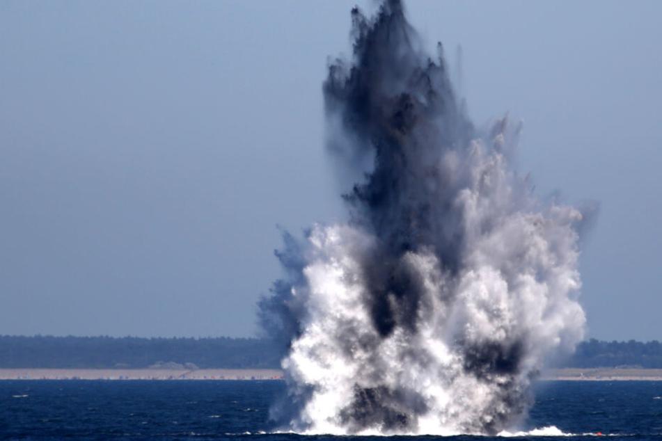Zwei Millionen Tonnen Kriegsmunition vor deutschen Küsten: Wird jetzt aufgeräumt?