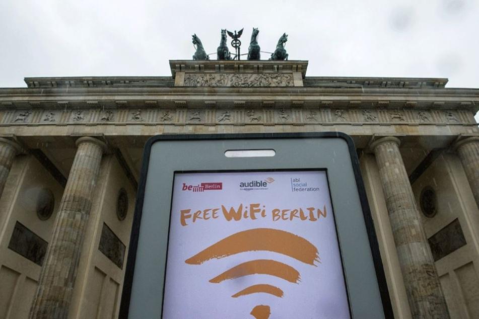 Ab sofort sind in ganz Berlin 650 Zugangspunkte für freie Plan-Nutzung freigeschalten.