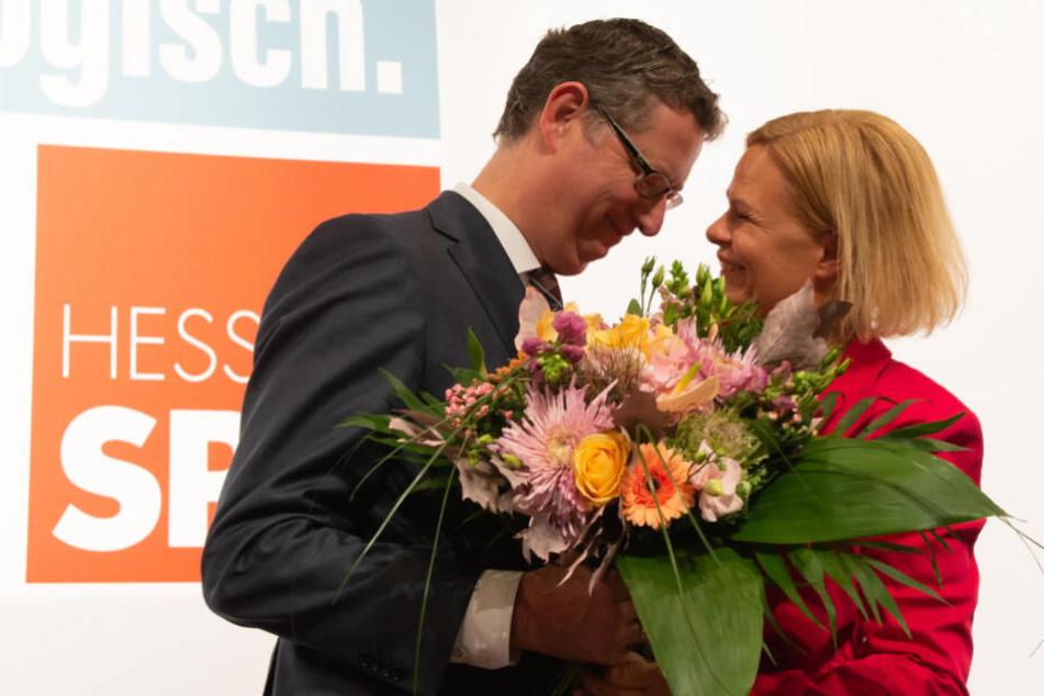 Wechsel an der SPD-Spitze: Nancy Faeser offiziell Nachfolgerin von Thorsten Schäfer-Gümbel