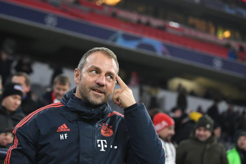 Trainer Hansi Flick vom FC Bayern München will die Hinrunde mit drei Siegen abschließen.