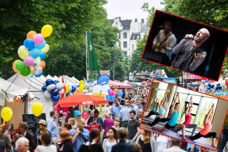 Jubiläum, Straßenfeste, Yoga und Sommerkino: Unsere Tipps für Euren Samstag!