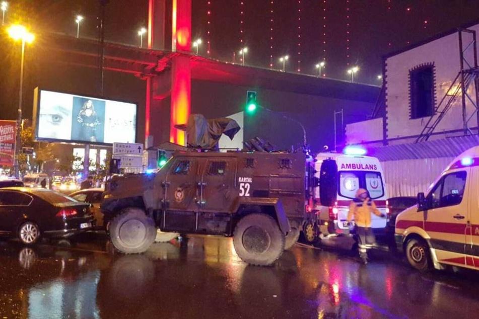 In der Silvesternacht starben 39 Menschen im Istanbuler Nachtklub Reina.