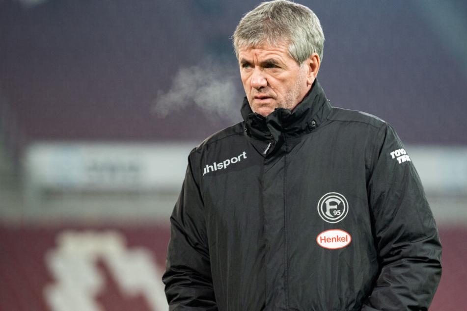 Friedhelm Funkel wurde am Mittwoch als Trainer von Fortuna Düsseldorf freigestellt.