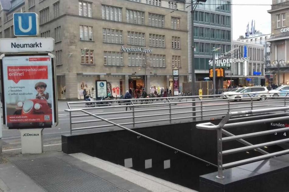 Der Kölner Neumarkt gilt als Szenetreff für Drogenabhängige.