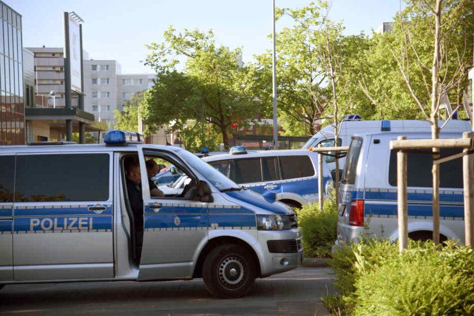 Die Polizei ging gegen Drogenhändler vor.