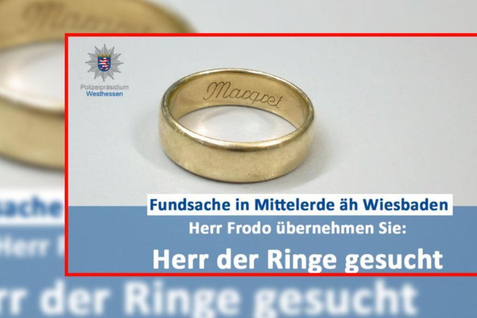 So witzig sucht die Polizei nach mysteriösem Ring-Besitzer