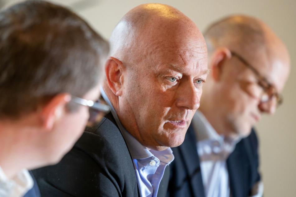 Thomas Kemmerich (mi.) ist Vorsitzender der FDP in Thüringen.