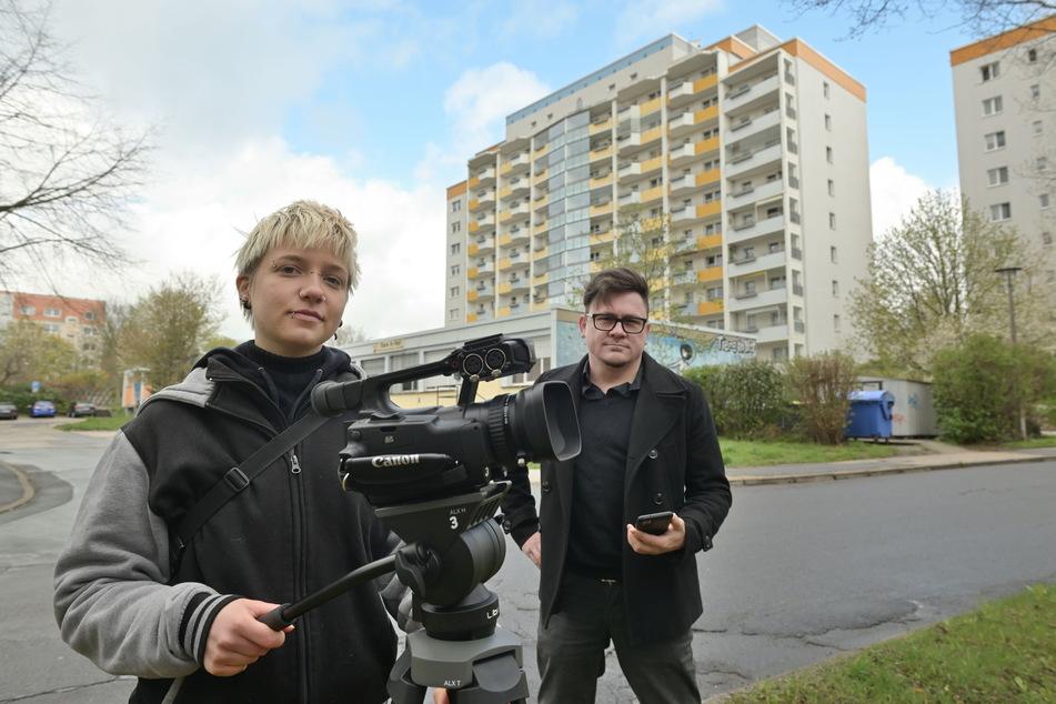 Die Filmemacher Nicole Bader (25) und Sebastian Steger (39) haben sich auf die Spuren des NSU begeben.