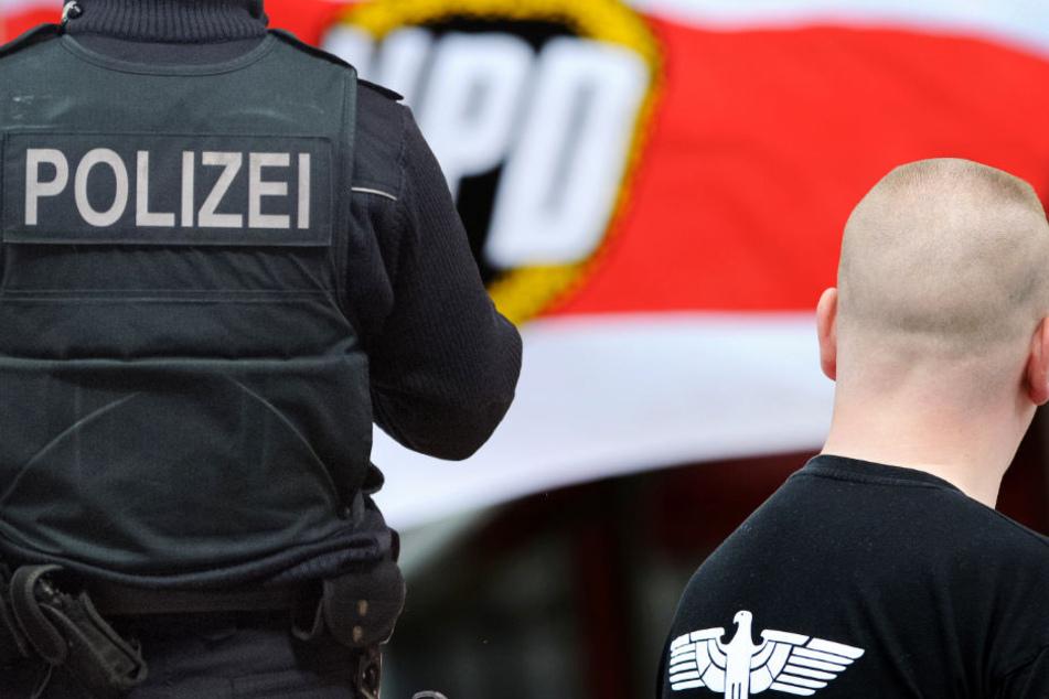 Rechtsrock-Konzert in Hessen: Großaufgebot der Polizei