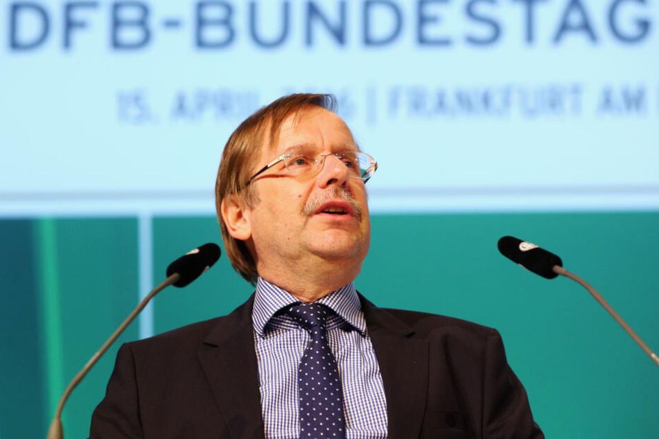 Rainer Koch ist als Vize-Präsident des DFB für den Amateur-Bereich zuständig.