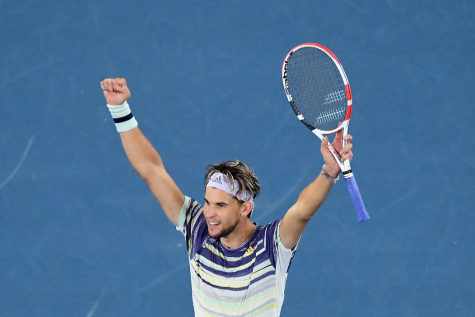 Dominic Thiem gewinnt das Halbfinale gegen Zverev.
