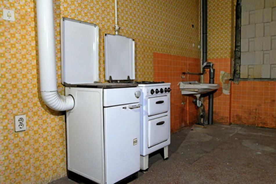 DDR-Charme in der Küche.