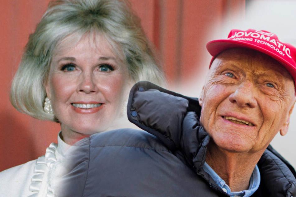 Doris Day und Niki Lauda.