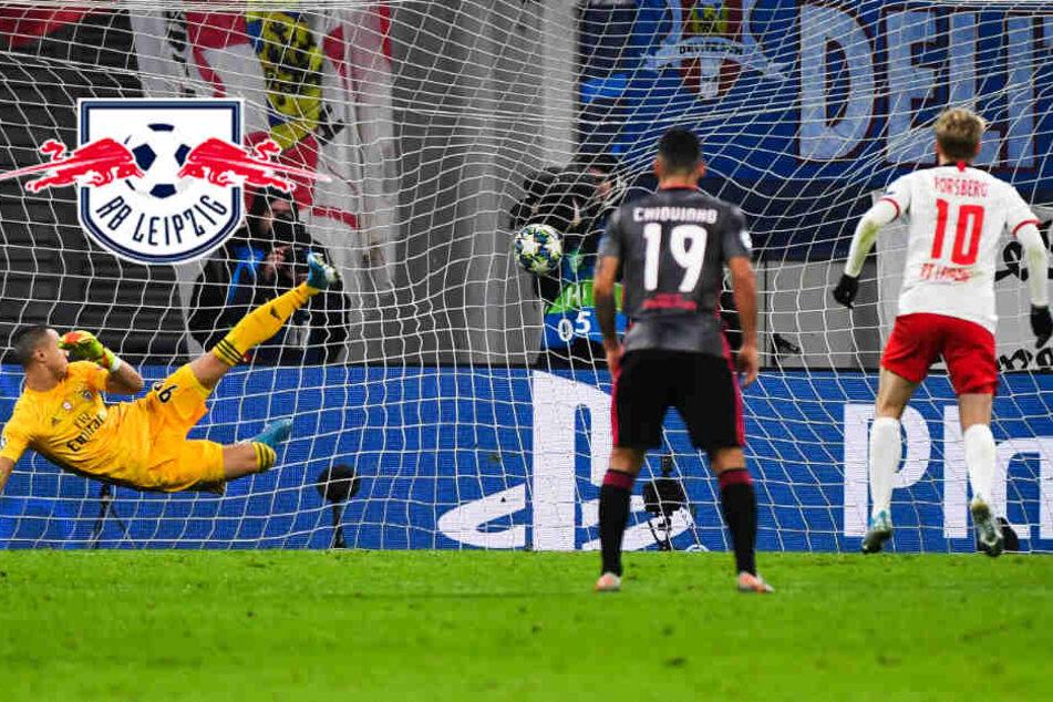 Doppelpack von Forsberg! RB Leipzig erstmals im Achtelfinale