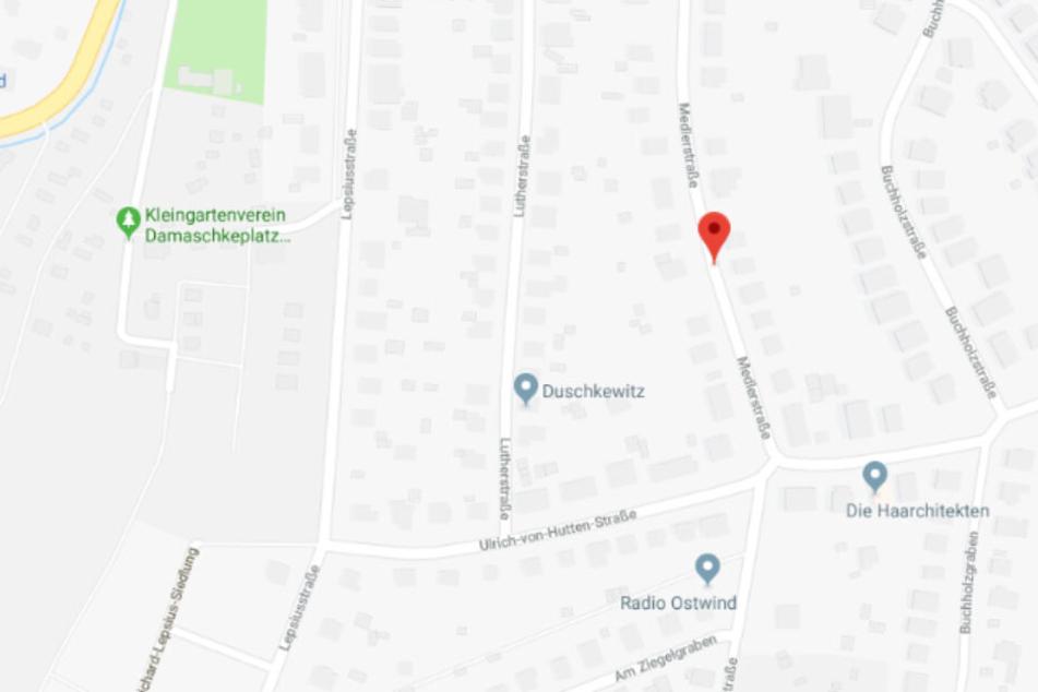 In der alten Hopfendarre in der Medlerstraße brach am Freitagnachmittag ein Feuer aus.