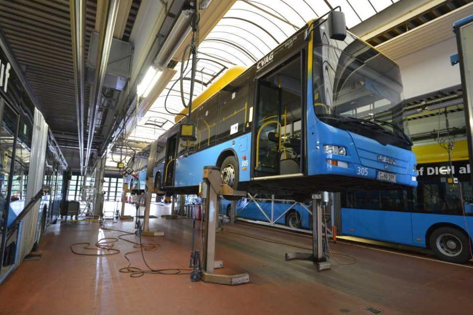 Bei der CVAG wird es eng: Neue Busse für die Ringbuslinie