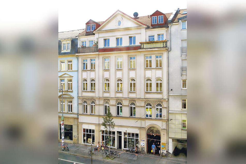 Das Haus an der Bautzner Straße 20. Das Gebäude hat den Krieg überstanden - ihre einstigen Besitzer wurden von den Nazis ermordet.