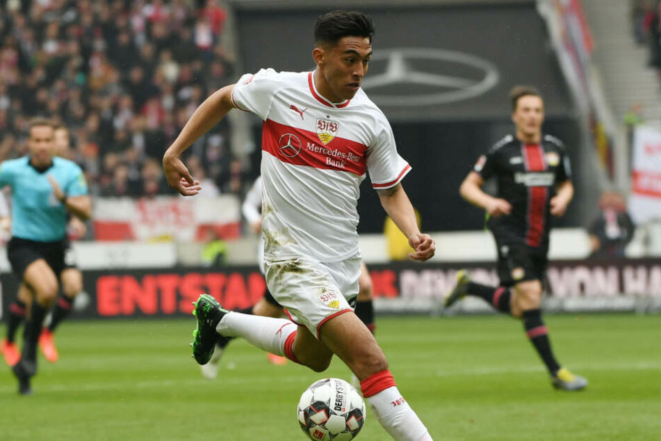 Stuttgarts Turbo-Argentinier Nicolás González im Vorwärtsgang.